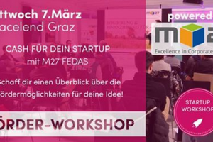 Startup Workshop: Förder-Workshop (mit M27 FEDAS)